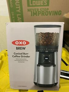 OXO BREW Conical Burr Coffee Grinder >>> Check out the