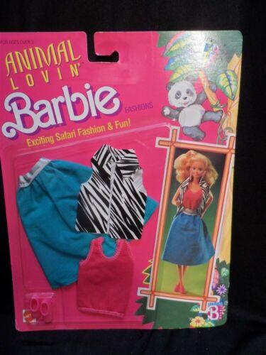 Animal Lovin/' Barbie Fashion Exciting Safari Fashion Mattel 1988 #1597 NRFP