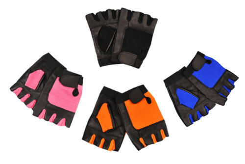 Prime Sports Weight Lifting Leather Padded Multi Purpose Gloves W-1052