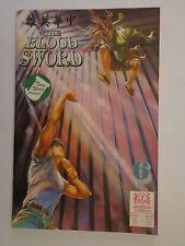 The Blood Sword MA Wing Shing M Baron T Wong #6 Jademan Comic January 1989 NM
