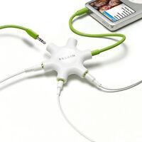 Belkin RockStar Headphones Splitter for All MP3 F8Z274