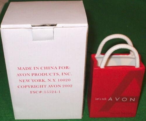 Avon vintage Lets talk Avon Ceramic Sac Award 2002