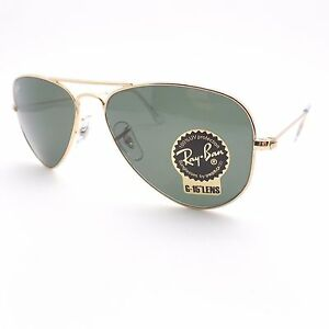 fca042076b Details about Ray Ban 3044 New Small Aviator Gold L0207 52mm Petite  Authentic Sunglasses