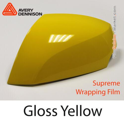FILM Gloss Yellow BM6150001 Échantillons Avery Dennison Wrapping