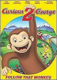 1 of 1 - Curious George  - Follow That Monkey [DVD], Excellent DVD, ,