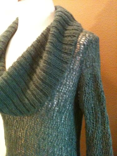 Pine Blend Alpaca Anthropologie Sweater Cowl Guinevere Neck Green S Sz Abbastanza xqYUS6
