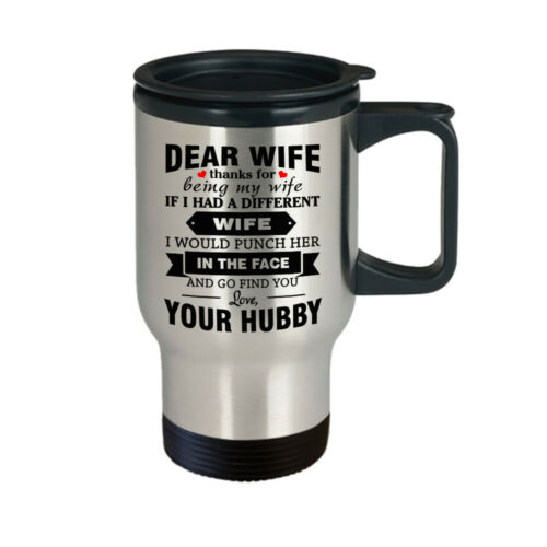 Magic Mug Gift for Dear Wife Thanks for being my Wife Funny Gift for Wife Her