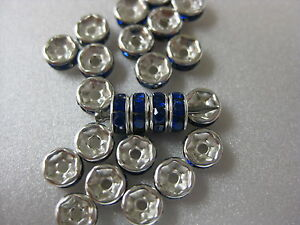 6mm wedding jeweled ring fishing lure components 25 for $2.00 (9, Hard Baits