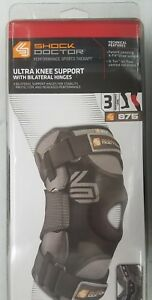 Image Is Loading Shock Doctor 875 Ultra Knee Brace With Bilateral