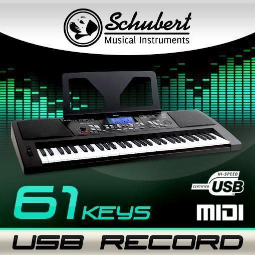 (B-WARE) 61 TASTEN BEGINNER HOME KEYBOARD E-PIANO KLAVIER LCD DISPLAY USB MIDI