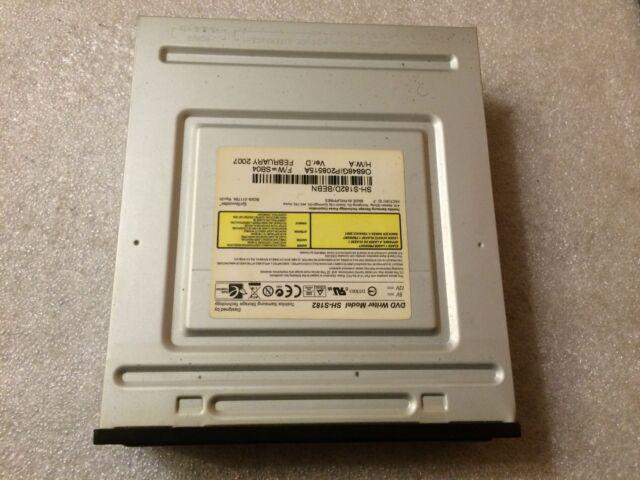 Masterizzatore DVD Samsung SH-S182D DVD+/-RW Dual Layer DVD-RAM IDE Nero