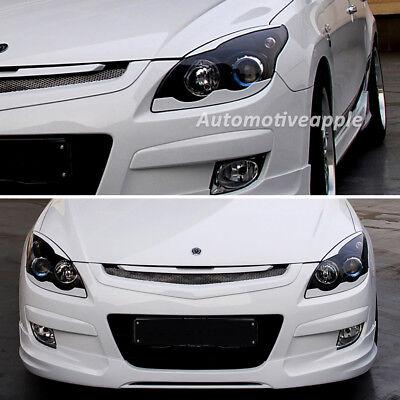 Head Lamp Eyebrow Eyeline Point PAINTED for 2011 2013 Hyundai Elantra MD