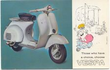 Vespa Cushman 125cc USA Dealer issued Period Postcard Scooter