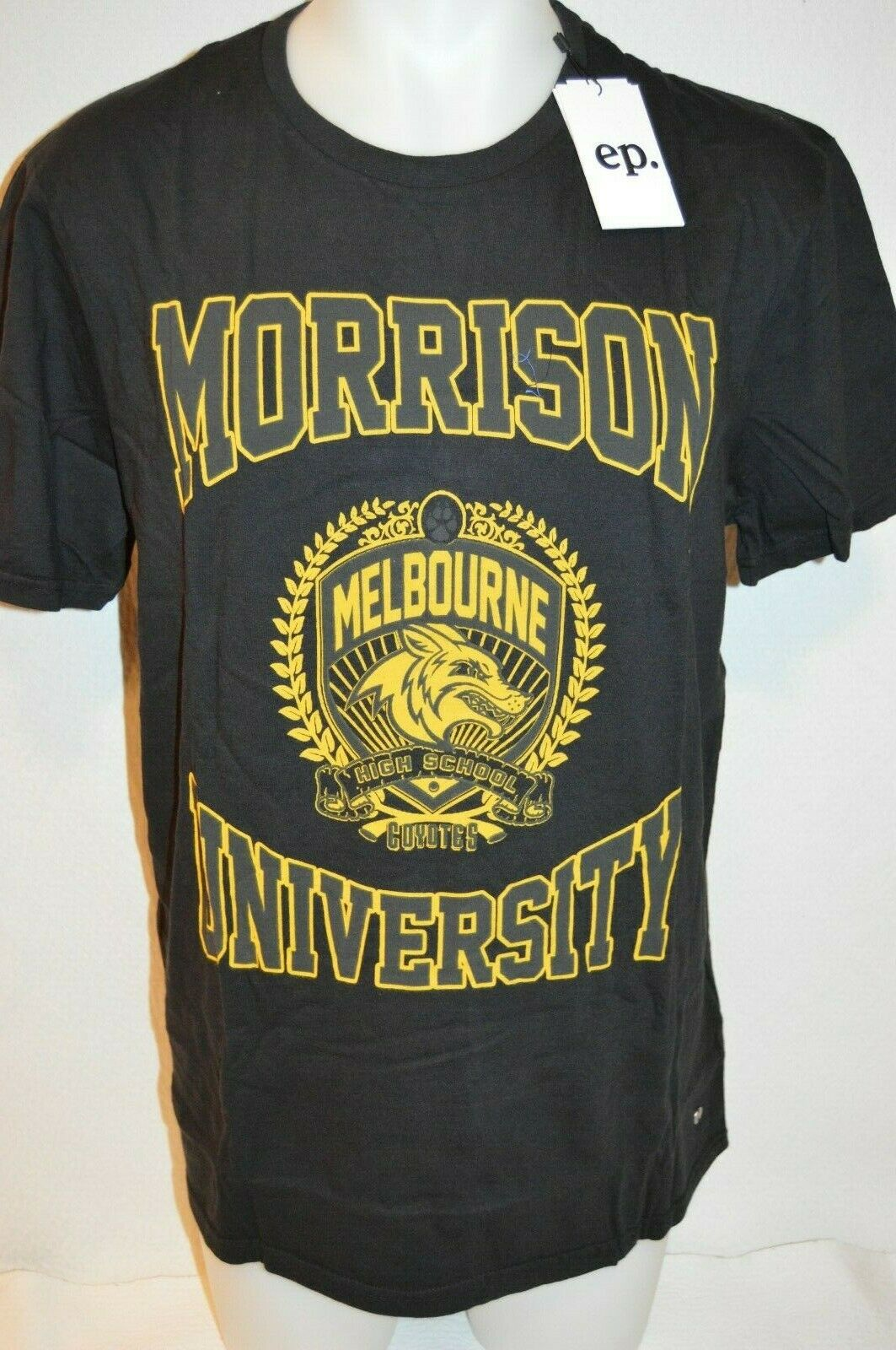 ELEVEN PARIS Man's MORRISON UNIVERSITY  T-Shirt NEW  Size Large  Retail