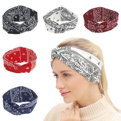 Fashion Women Turban Twist Knot Head Wrap Headband Twisted Knotted Hair BandDE