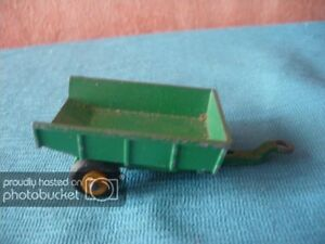 Details about 23 9oz MATCHBOX 51 TRAILER 1964 GREEN 1:75