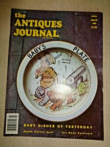 Antiques-Journal-1980-Moravian-Pottery-Spode-Coffee-Cans-Westward-Ho-Glass-Tins