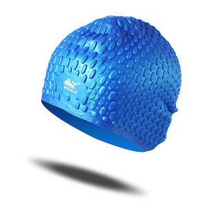 Brand-New-Unisex-Swimming-Caps-Bathing-Waterproof-Silicone-Suit-Long-hair