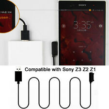 Extra Long 2M Magnetic Charger Cable For Sony Xperia Z3/Z2/Z1/Compact/Z Ultra US