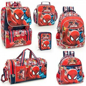 Bags Detachable Pencil Case Travel Lunch Bag Rucksack Marvel Spiderman Backpack Kids' Clothes, Shoes & Accs.