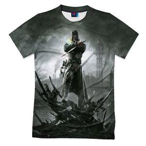 shirt T Fullprint Fullprint T Dishonored Dishonored shirt T qz7xtw5c