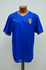 ITALY NATIONAL TEAM 2007/2008 HOME FOOTBALL SHIRT JERSEY MAGLIA PUMA