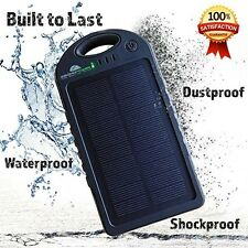 Solar Charger And 12000 Mah Solar Power Bank, BONUS 2-in-1 Charge Cable And USB