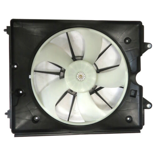 Dual Radiator and Condenser Fan Assembly Left TYC fits 18-19 Honda Odyssey