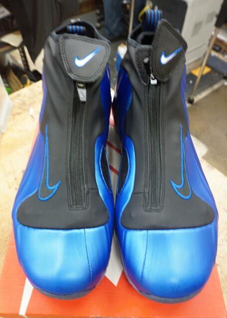 1cae220d069 Nike Air Flightposite Size 11 Dark Neon Royal Black AO9378-500 NEW FREE  SHIPPING