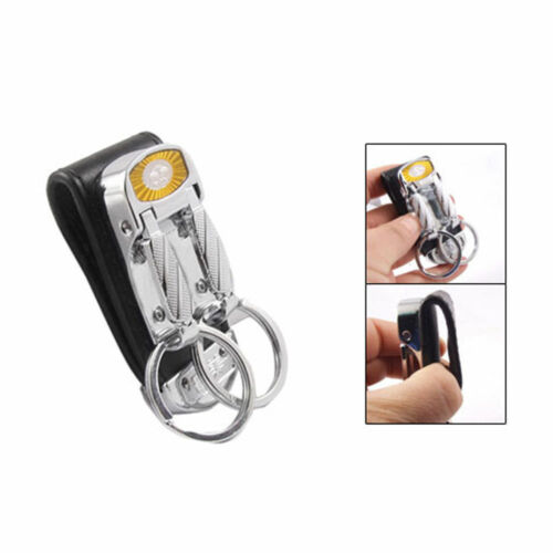security key chain lock in place Police equipment double key chain