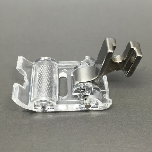NEW SEWING MACHINE ROLLER FOOT ATTACHMENT FOR MOST DOMESTIC SEWING MACHINES