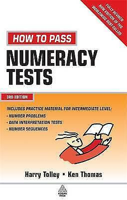 1 of 1 - How to Pass Numeracy Tests: Test Your Knowledge of Number Problems, Data Interpr