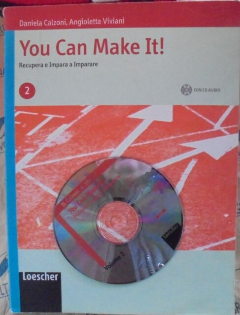 YOU CAN MAKE IT! VOL.2 con Cd - D.CALZONI e A.VIVIANI - LOESCHER