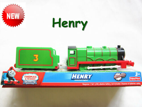 Thomas the Tank Engine TRACKMASTER train Henry Compatibles avec toutes les pistes