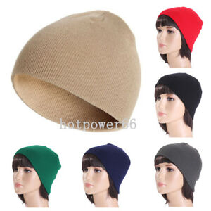 b8775431925 NEW Men Women Fashion Knit Baggy Beanie Oversize Winter Hat Ski ...