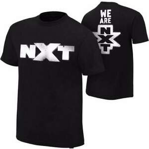 Official-Licensed-NXT-034-nous-sommes-NXT-034-spraypaint-T-Shirt-Noir