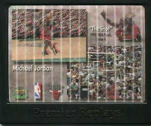 MICHAEL JORDAN UDA THE SHOT PREMIER REPLAYS CHICAGO BULLS GREATEST OF ALL-TIME B