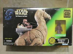 Ronto and Jawa 1997 STAR WARS Power of the Force POTF MIB