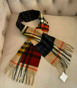 8c4e9a8bbea05 Image is loading New-Burberry-Unisex-Children-Classic-Check-Cashmere-Scarf-