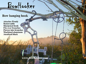 hunting bow hanger bow hanger treestand bow hook archers bow hunting bow holder