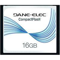 Dane-elec 16 Gb 16gb Compact Flash Cf Memory Card For Slr Cameras