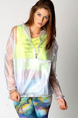 festival plastic mac raincoat camping waterproof coat Kagool festival rainmac
