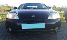 HYUNDAI COUPE S 2004 1.6 ENGINE O/S RIGHT BREAKING FOR SPARES N/S LEFT BLACK EB
