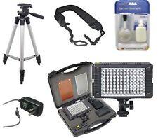 Professional Photo & Video 96 LED Light / 13PC Set + Battery + Tripod + AC