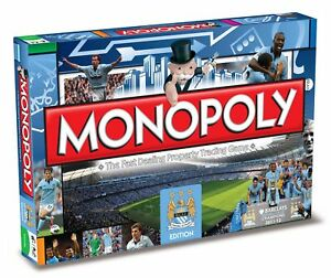 Monopoly-Manchester-City-FC-Edition-Englisch-Gesellschaftsspiel-Brettspiel-NEU