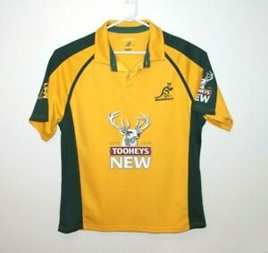 Australia-Wallabies-Kooga-2011-Tooheys-New-Rugby-Union-Jersey-Size-Men-039-s-XL