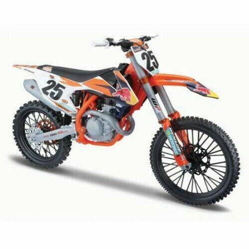 Maisto 532227 Color Naranja Motocicleta