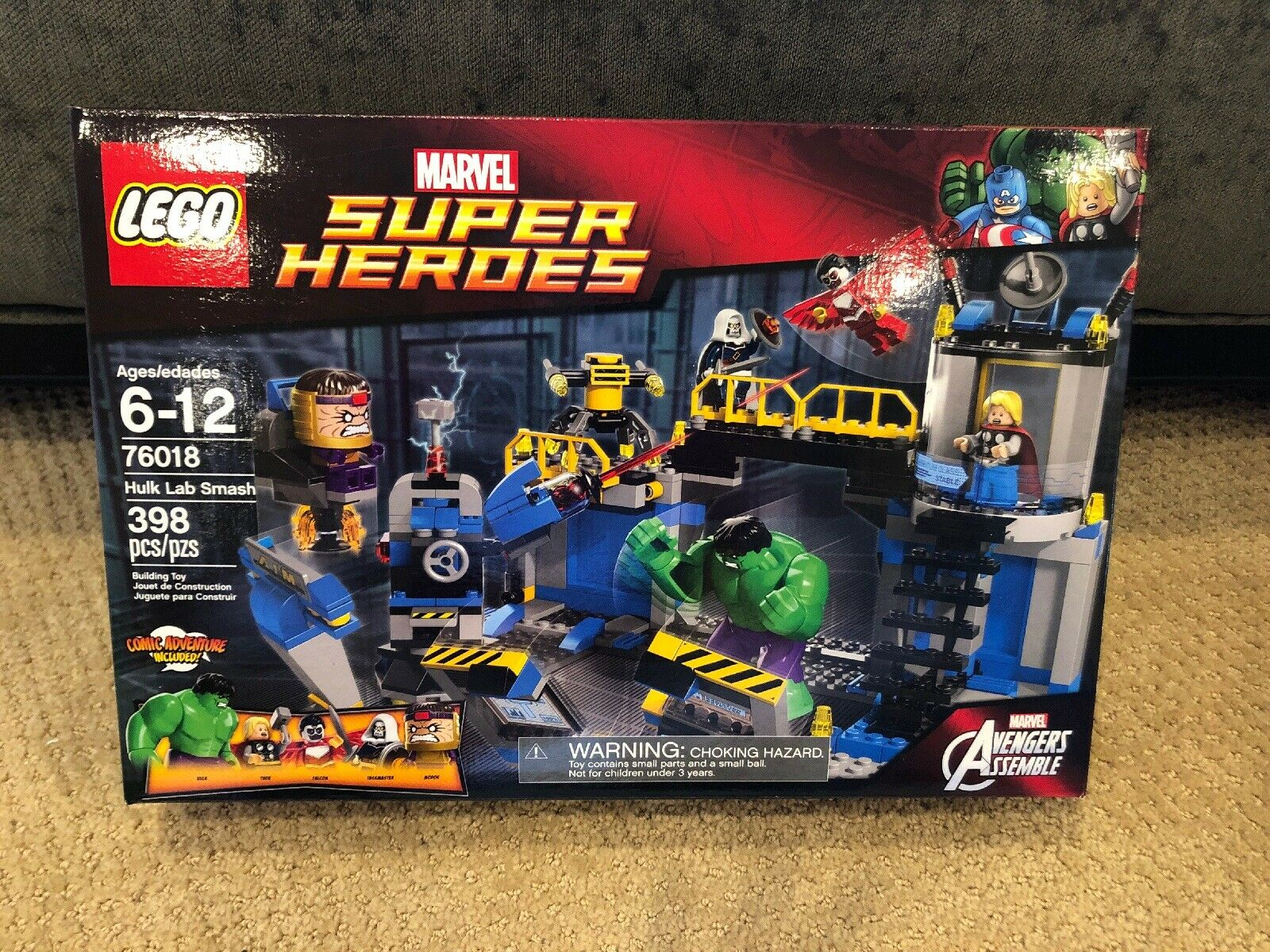 LEGO Hulk Lab Smash (76018) - New & Sealed
