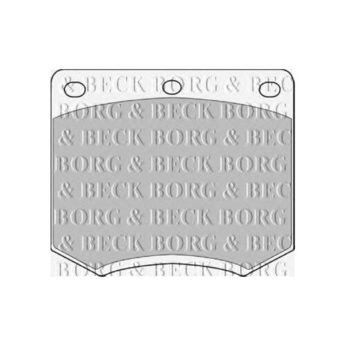 Ford Capri MK3 2.8 Super Injection Variant2 Genuine Borg /& Beck Front Brake Pads