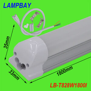 10-pieces-lot-T8-integrated-6ft-1-8m-28W-led-tube-with-accessory-lighting-bar